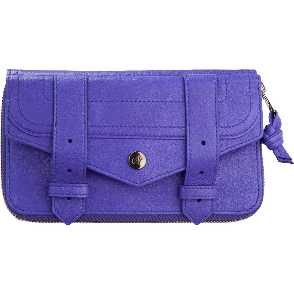 Proenza Schouler PS1 Large Zip Leather Wallet ($339, originally $560)