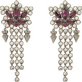 Mawi Crystal & Spike Drop Earrings ($289, originally $475)