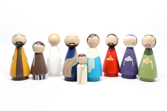 Goose Grease Peg Doll Nativity Set