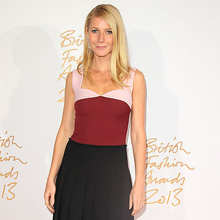 Celebrities at the British Fashion Awards 2013