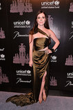 Nell Diamond in Prabal Gurung at the UNICEF Snowflake Ball.