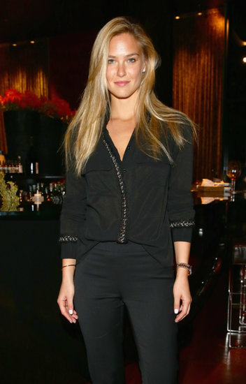 Bar Refaeli at the Epicurea Food Festival at The Bulgari Hotel Milan.