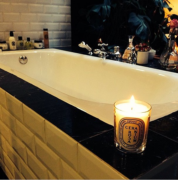 What we wouldn't give for a candlelit bubble bath. Source: Instagram user diptyque