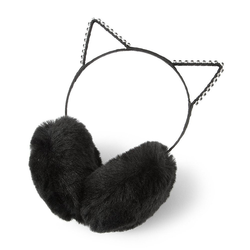 It's a pair of earmuffs ($15)! It's a cat-ear headband! It's both!