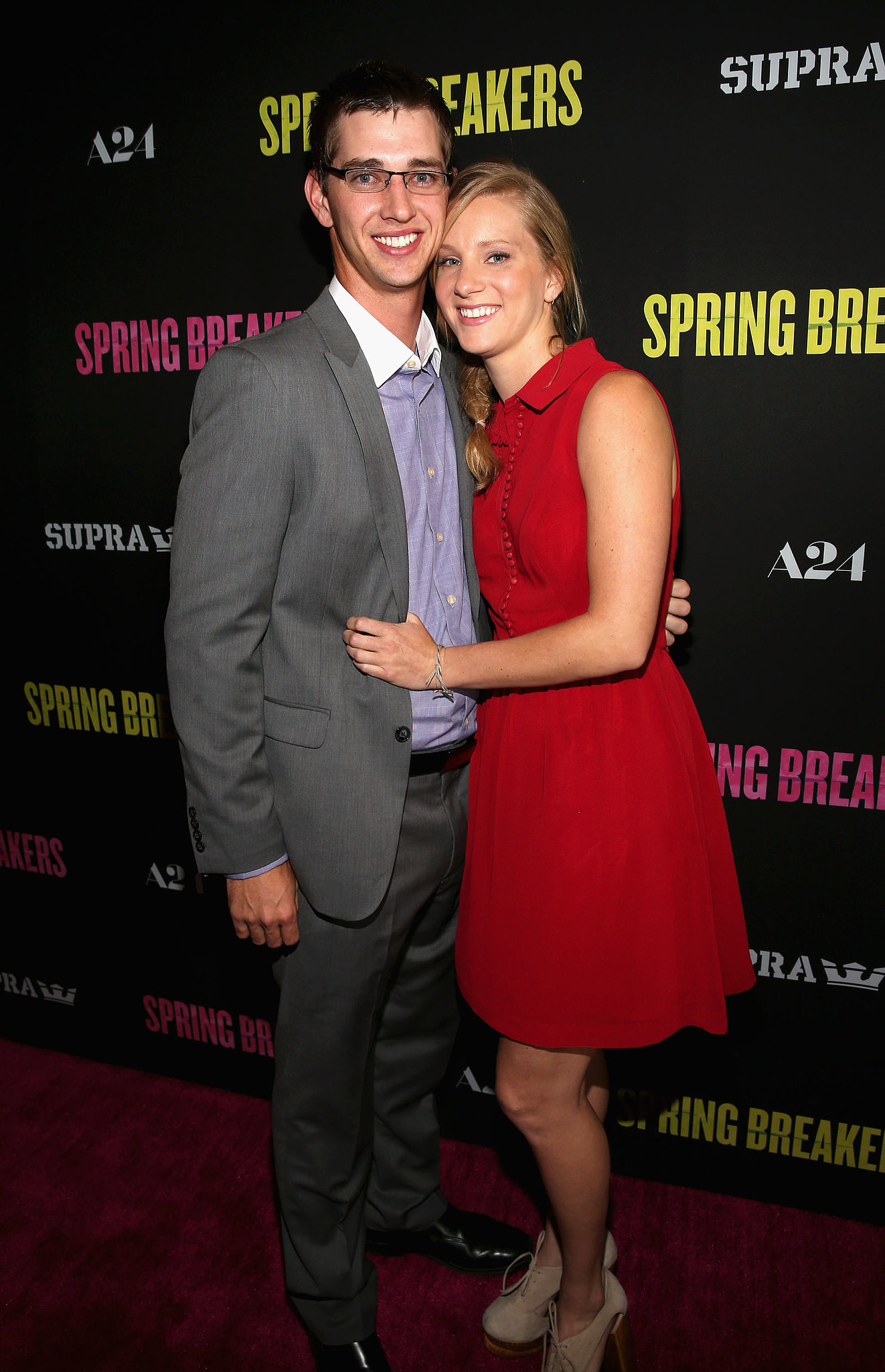 On Sept. 28, Heather Morris and longtime love Taylor Hubbell welcom