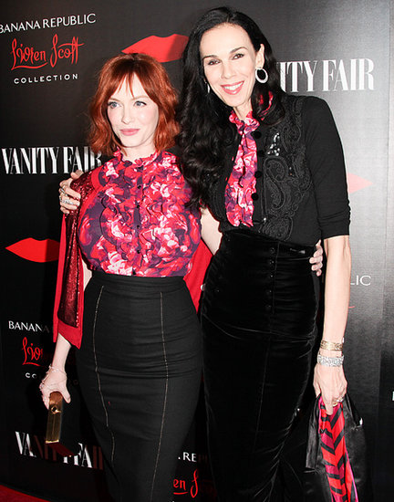 L'Wren Scott Brings the Party to Banana Republic