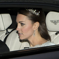 Kate Middleton Wearing Lotus Tiara Pictures