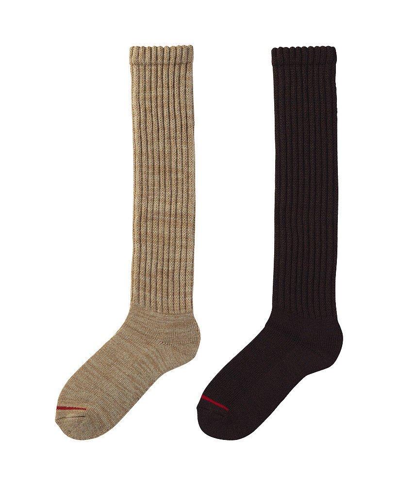 If you're looking for the perfect pair of socks for someone whose feet are always cold, this pair of Uniqlo's Heattech knee-highs ($13) is sure to please.