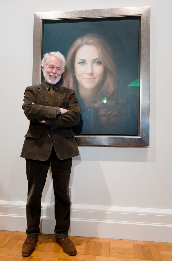 Unveils Her Official Portrait in London