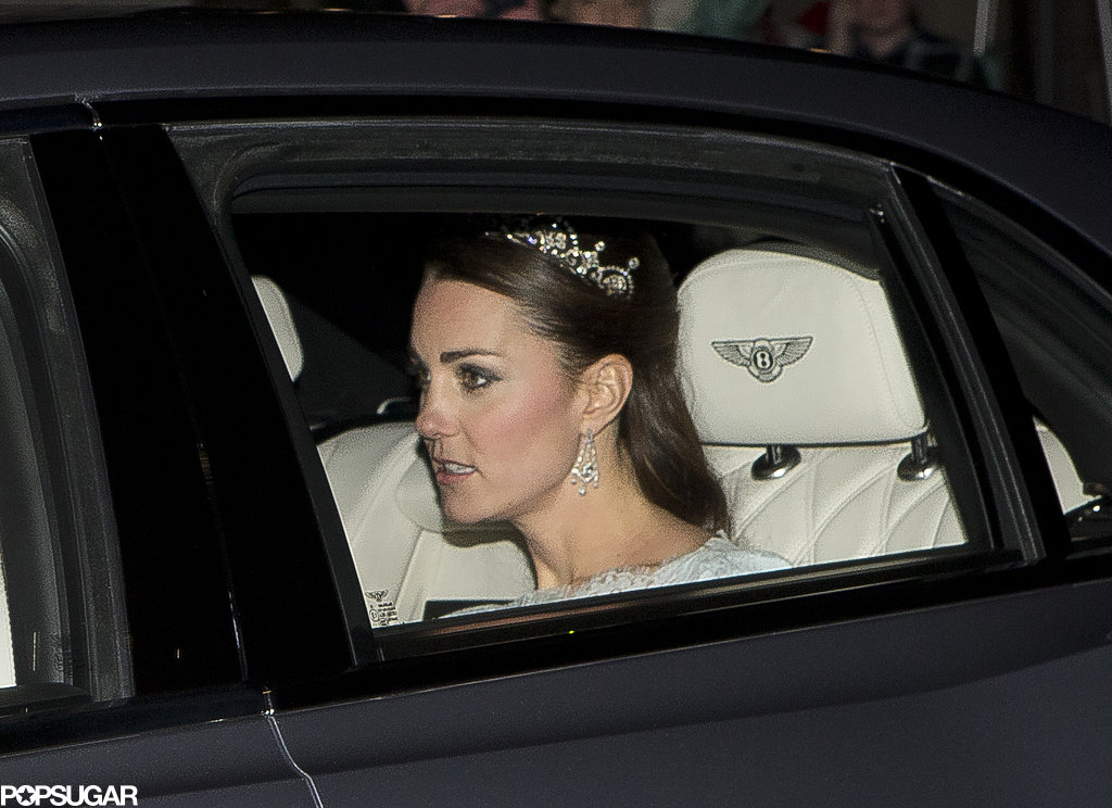 Kate Wears a Tiara Fit For a Queen