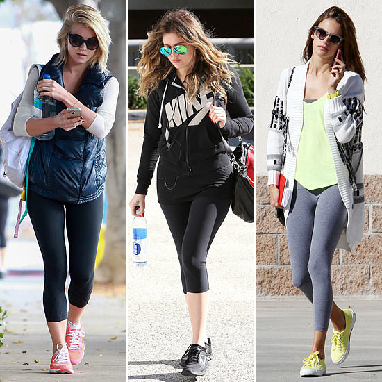 Celebrities Sweat it Out This Month