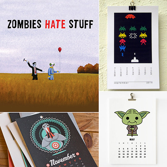 Traveling Through Time: The Geekiest 2014 Calendars