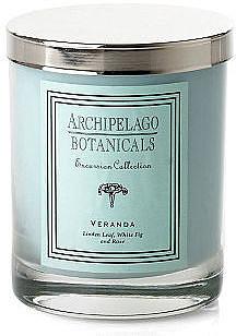 S/2 Veranda Short Candles, Linden & Fig