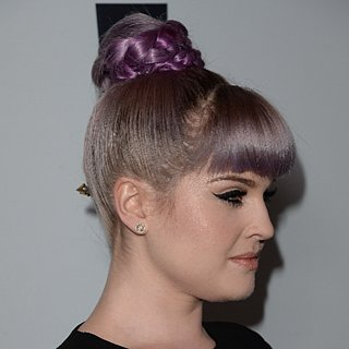 Kelly Osbourne With a High Bun at Make a Wish Gala in LA
