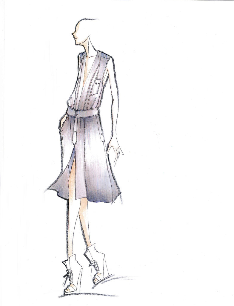 Sneak Peak Spring 2014 Designer Sketches Glam Beaute