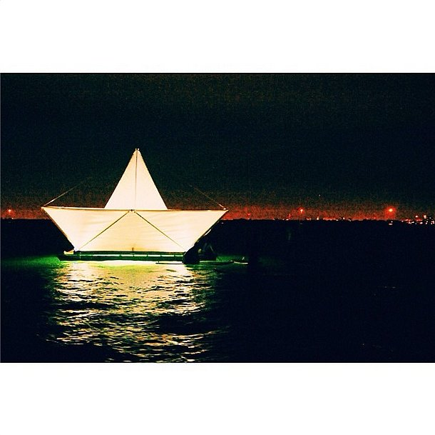 Miami was illuminated by Art Basel. Source: Instagram user bfa_nyc