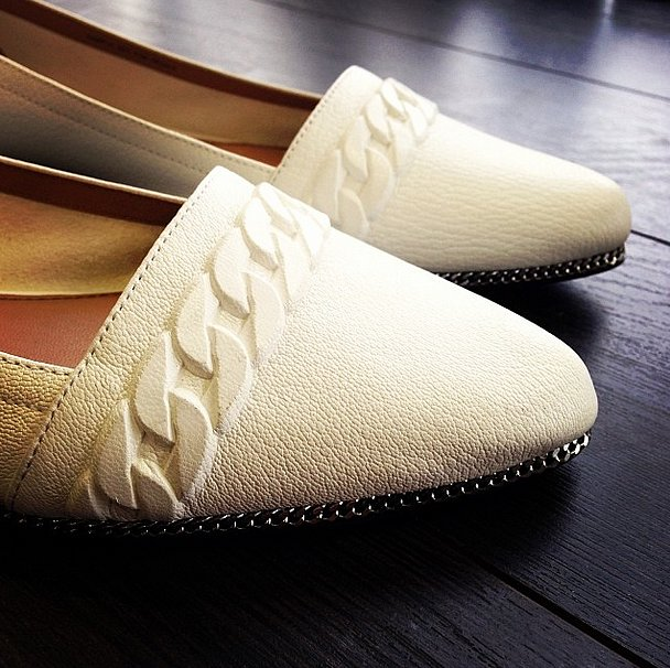 Rachel Zoe's flats were off the chain. Source: Instagram user rachelzoe