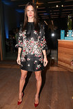 Alessandra Ambrosio at Stefano Tonchi and Vionnet's Art Basel party.