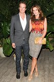 Rande Gerber and Cindy Crawford at the Louis Vuitton Miami dinner.
