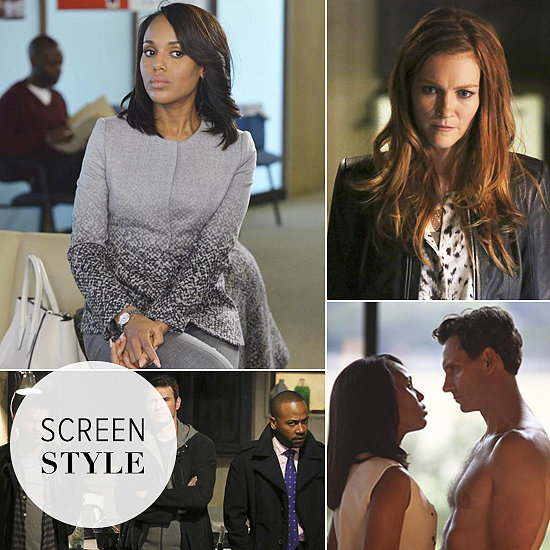 Olivia Pope Goes Gray For Scandal's Most Shocking Reunion