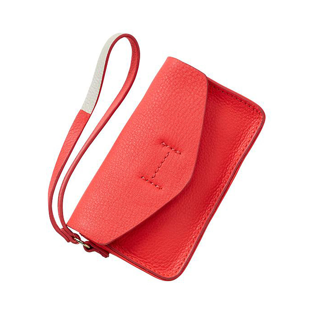 Gap's leather wristlet ($25) is all one needs to keep the nightly essentials on hand — literally.