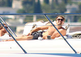 Leonardo DiCaprio lived it up in Cannes in May.