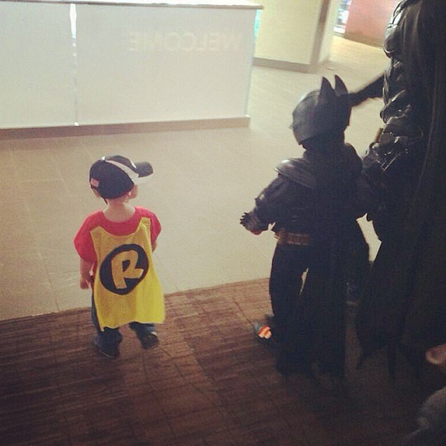 Batkid . . . and Robin!