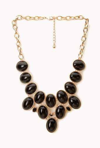 FOREVER 21 Luxe Bib Necklace