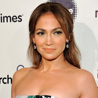 Jennifer Lopez Green Eye Shadow 2013