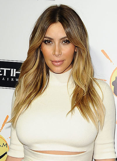 Kim Kardashian: Brunette to Blonde