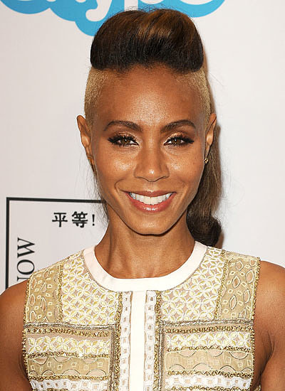 Jada Pinkett Smith: Shaved Sides
