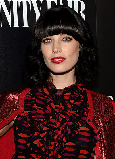 Jessica Paré: Cut Bangs