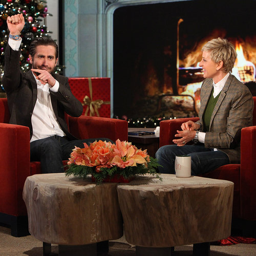 Jake Gyllenhaal Jokes About His Injury on Ellen