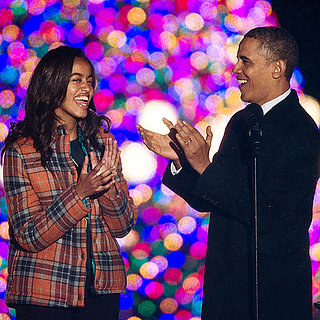 The Obamas at the National Tree Lighting 2013 | Pictures