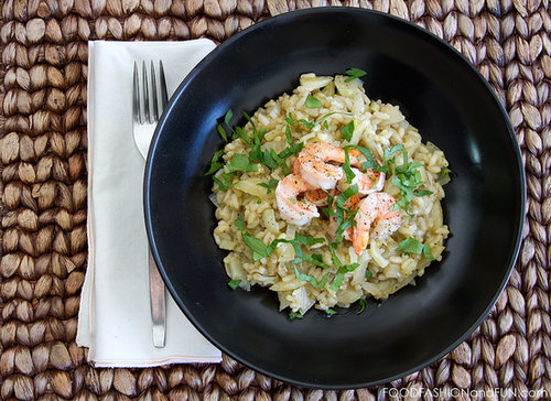 Let's Eat | Shrimp and Fennel Risotto
