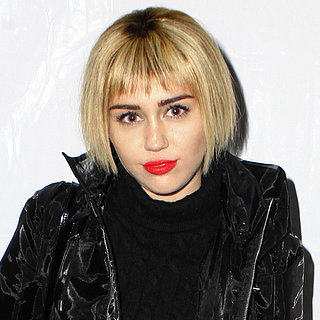 Miley Cyrus in a Short Blond Wig | Pictures