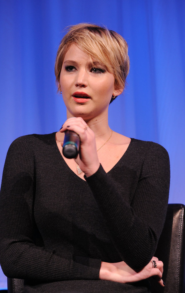Jennifer Lawrence Has the Blues