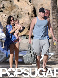 Channing Tatum and Jenna Dewan brought their daughter, Everly, to the beach in Puerto Rico.