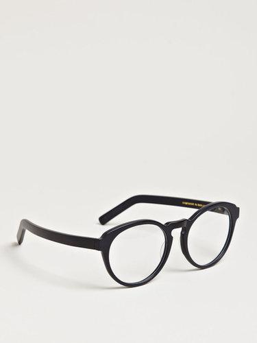 Unisex Hadley Matt Black Glasses