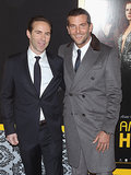 Alessandro Nivola met with Bradley Cooper on the red carpet.