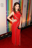 Anna Kendrick posed on the red carpet at the Kennedy Center Honors gala.