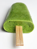Matcha-Avocado Popsicles