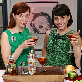 Alie and Georgia's Nespresso Cocktail Recipe