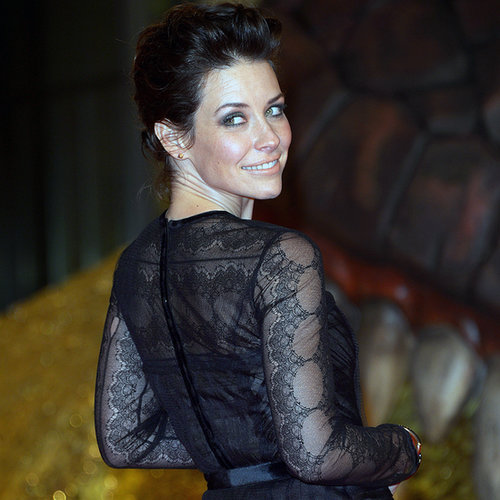 Evangeline Lilly at The Hobbit Berlin Premiere