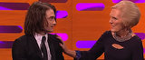 Daniel Radcliffe Tries Out a Hair Weave