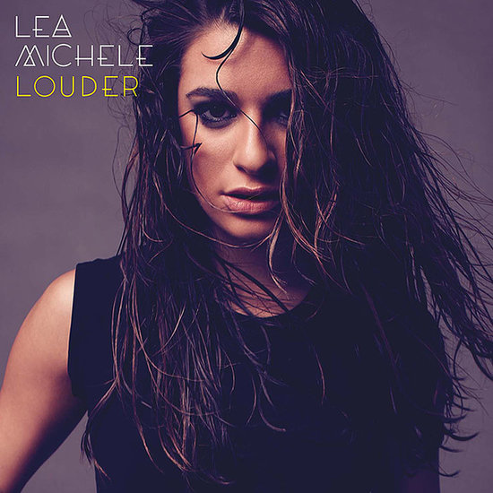 Lea Michele Louder Album Cover Beauty Look