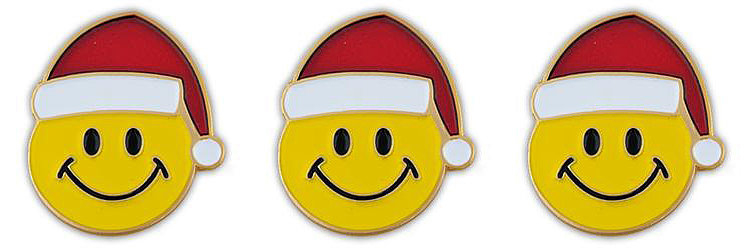 Santa Smiley Faces