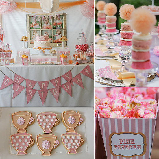 Birthday Parties: A Too-Too Cute Tutus and Teacups Birthday Party