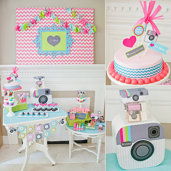 Birthday Parties: A Tween-Tastic Instagram-Themed Birthday Party