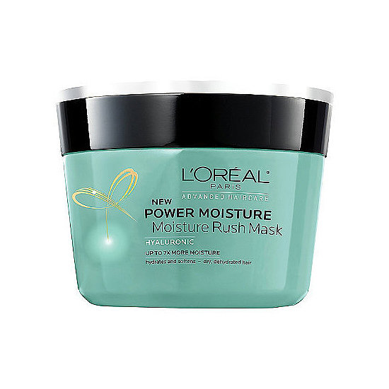 Skip your regular conditioner once a week for L'Oréal's Power Moisture Mask ($7), which will give those thirsty strands a much-needed drink.